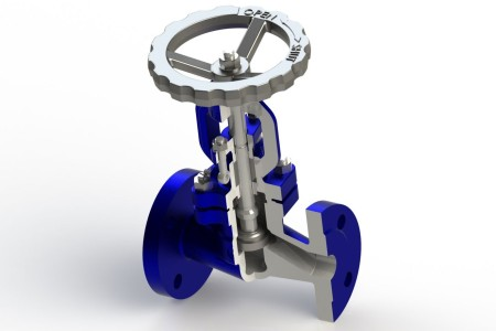 Globe and control valves